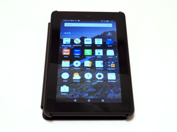 Amazon Fireタブレット8GBブラックの機能